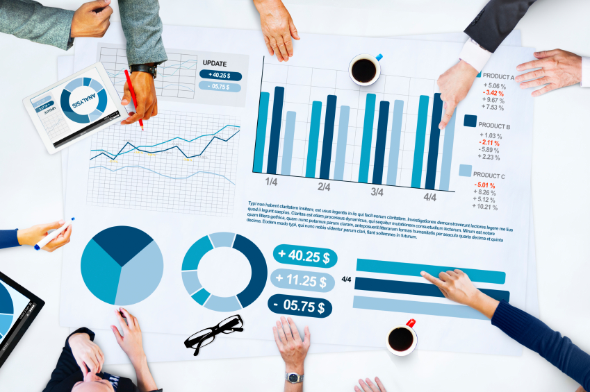 Business People Meeting Planning Analysis Statistics Brainstormi